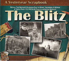 The Blitz CD DVD Booklet Yesteryear Scrapbook Music Newsreel Words Recall Past