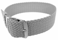 Minott Uhrenarmband Perlonband Durchzugsband Textilband 28691