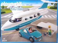 PLAYMOBIL 9504 Privatjet mit Cabrio und 3 Figuren
