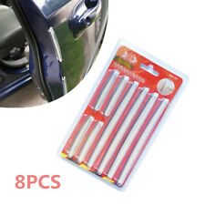 8PCS Car Styling Door Edge Guard Scratch Anti Collision Strip Protector Rubber