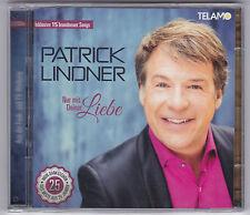 PATRICK LINDNER-NUR MIT DEINER LIEBE-2 CD'S NEU!  INKL. 15 BRANDNEUER SONG