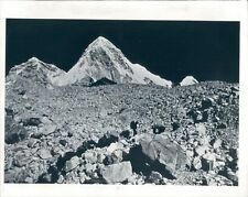 1982 Mount Pumori Himalaya Mountains Press Photo