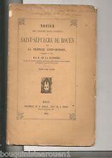NOTICE EGLISE ST SEPULCRE DE ROUEN CHAPELLE SAINT GEORGES E DE LA QUERIERE 1861