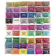 76x 100g BUMPER PACK of Glitter!  Fine for Wine Glass Craft Nails
