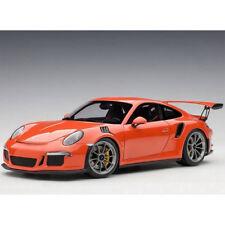 Autoart Porsche 911 991 GT3 RS 1:18 Model Lava Orange / Dark Grey Wheels 78168