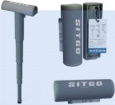 SitGo Portable Seat | Lightweight, Adjustable Height Folding Lean-to Stool