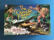 Crocodile Hunter Board Game w/ Steve & Terri Irwin ~ Complete (1999 MB Hasbro)