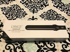 Lange Hair Curling Wand Ondule 32mm Tourmaline Black Ceramic Beauty NIB