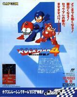 Rockman Megaman Super Chinese Land 2 Famicom FC GB GAME MAGAZINE PROMO CLIPPING