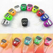 10 Pcs Digital Counting Machine for Mantra Tasbeeh Tally Finger Counter
