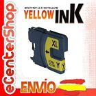 Cartucho Tinta Amarilla LC1100 NON-OEM Brother DCP-6690CW / DCP6690CW