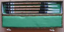 Chinese Handcraft Painting Calligraphy Brush Pens & Box