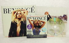 Beyonce 4 Deluxe Edition Taiwan 2-CD+ Promo Remix CD