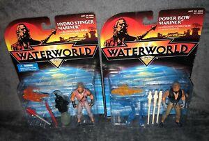 Waterworld (1995) Power Bow Mariner + Hydro Stinger Mariner KENNER MOC *Sealed*