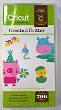Create a Critter Cricut Cartridge - NOB, Unlinked - Animals, Houses + More