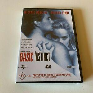 BASIC INSTINCT New Dvd R4 MICHAEL DOUGLAS SHARON STONE