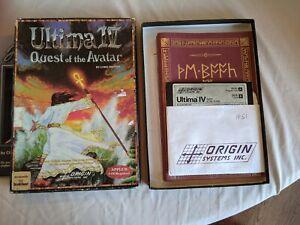 Ultima 4 Vintage Apple II software bundle