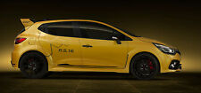 Renault Clio RS - 30x14 Inch Canvas Framed Picture Wall Art Print