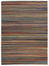 Wool Striped Shag Rugs