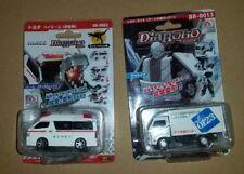 Transformar robots juguetes de vehículos japonés Diarobo ambulancia & camión de reparto