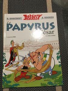 BD Le Papyrus De Cesar . Asterix . 1ere Édition. Éditions Albert René