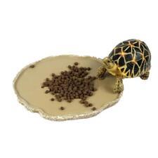 Reptile Vivarium Terrarium lézard Bowl Nourrir Gecko eau Worm Feeder # 2