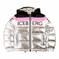 Iceberg Piumino Bambini GBICEF9301J 906 Silver