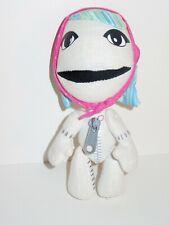 "Little Big Planet Gloria Sackgirl LBP Plush Senario Toy Figure Doll 8"" Stuffed"
