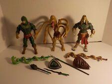 He-Man MOTUC Masters Universe Classics Snake Men KING HISS Lot Serpentine Hssss+