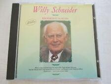 Willy Schneider - Ein Porträt in Musik - CD made in West Germany