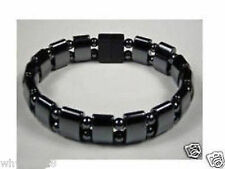 Black Magnetic Hematite Beads men's & women's Bracelet