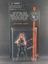 2013 STAR WARS BLACK SERIES MARA JADE #14  MOC Orange Line ??