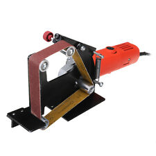 Drillpro Angle Grinder Belt Sander Attachment Metal Wood Sanding Belt Adapter