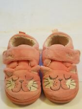 Next girls cats pink slippers infant UK 5