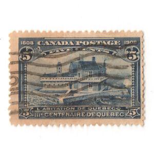 CANADA 1908 Scott # 99 used F/VF CV$50