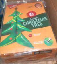NEW WEMBLEY XMAS Holiday Christmas Inflatable 5.5 FT Big Tall Indoor Outdoor NIB