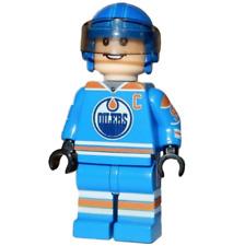 **NEW** LEGO Custom Printed - WAYNE GRETZKY - #99 Oilers Hockey Minifigure