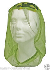 Pocket Mosquito Proof Head Net Camouflage Camping, Hunting, Fishing