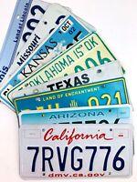 Route 66 License Plates 8 States Craft Man Cave Gift CA AZ NM TX OK KS MO IL
