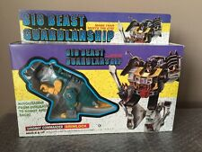 Vintage Grimlock Dinobot Commander Big Beast K/O G1 Transformers  MiB -Beautiful