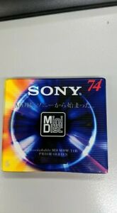 Sony Mini Disc - 74 Minute Blank Recordable     MDW-74B         [New - Sealed]