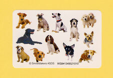120 Dog and Puppy Mini Stickers - Party Favors - Rewards