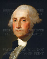 George Washington, Williamstown Portrait by Gilbert Stuart and Rembrandt Peale