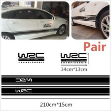 World Rally Racing Sport Decal For Whole Body Auto Tuning Styling Waterproof WRC