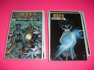 Kiss Psycho Circus 1-30 near complete set all around VF/NM! Image 1997 2121