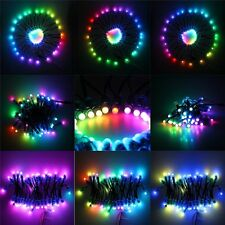400PCS WS2811 RGB Full Color 12mm Pixels digital Addressable LED String DC5V