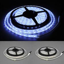 LED Strip 60 LED 2835 IP68 26Lm/Led kaltweß 12V extra dünn ( 10x4 mm )