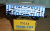 """Trix 23522 H0 Güterwagen """"Allgäuer Seifen u.Soda-Fabrik GmbH"""" DRG Epoche 2, KKK"""