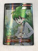 Wally FULL ART RARE Trainer 107/108 XY Roaring Skies Pokemon NM