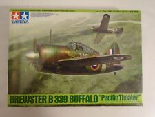 Tamiya 61094 1/48 Brewster B339 Buffalo WWII Lend Lease Fighter Pacific Theater